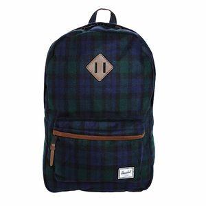 Herschel Supply Co. Heritage Watch Plaid Backpack